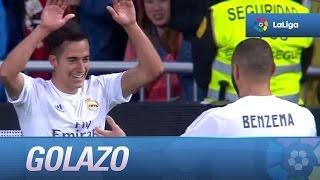Golazo de Lucas Vázquez (2-0) Real Madrid - Villarreal CF