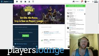 PlayersLounge.co VIP Update #025 | PLAY FORTNITE FOR MONEY