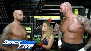 نجوم WWE يتحدثون عن فوز روسيف باللقب، لوك جالوز وكارل أندرسون يتحدثون عن احداث أثر، مباريات NXT - في الحلبة