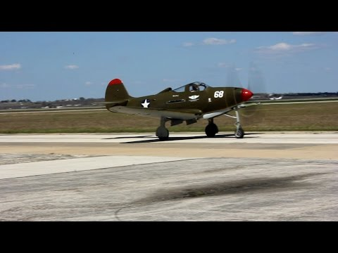 CAFCENTEX P-39 Miss Connie Flight Ops