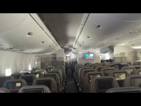 A380 Economy Flight Emirates Airline KUL to DUBAI