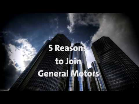 5 Reasons to Join General Motors