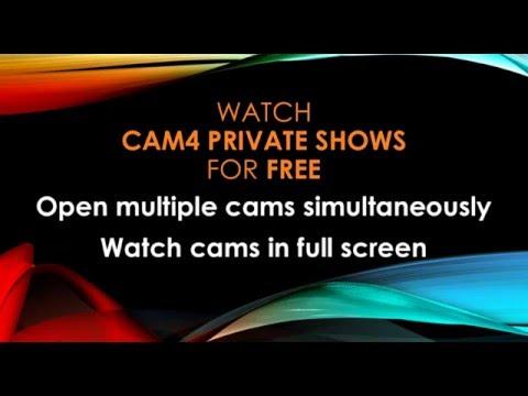 Watch Private Shows On Cam4 For Free - Cam4'te Özel Showları Bedava Izleme Yöntemi