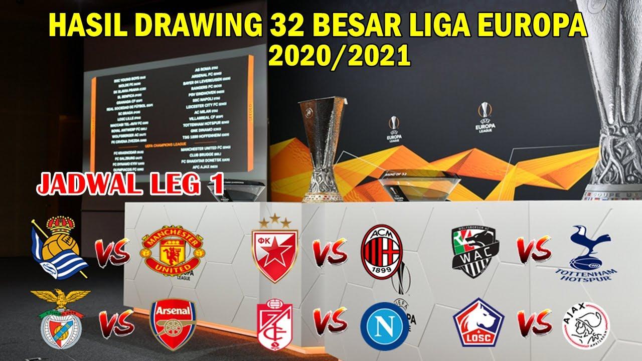 Hasil Drawing 32 Besar Liga Europa Real Soceidad Vs Manchester United Uefa Europa League 2020 2021 Youtube