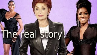 Drew RHOA final reunion trailer attempt to save her job! Sharon Osbourne Bill Maher interview!