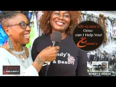 Xsandy's Second Black owned Hair Store Opening
