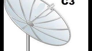 Apontar Para Satélite StarOne C3 (antena telada da banda c)