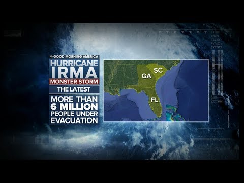 Georgia and South Carolina advise residents to evacuate