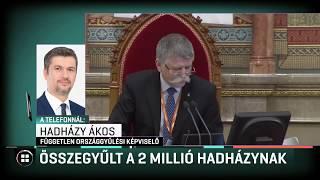 Összegyűlt a 2 millió Hadházynak 20-02-21