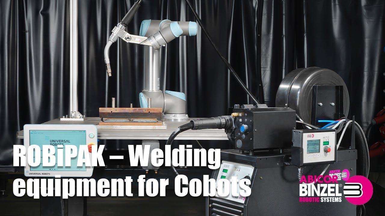 ROBiPAK – Welding equipment for Cobots