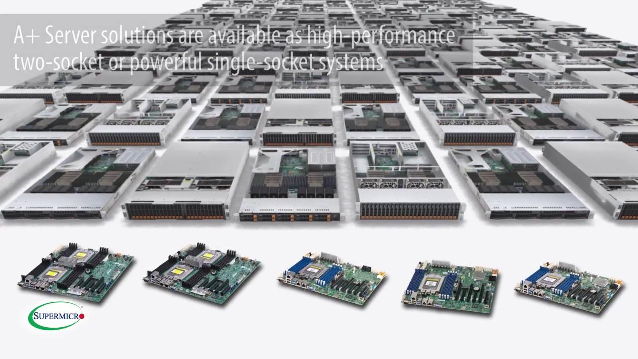 New Generation A+ Family Based on AMD EPYC™ Processors