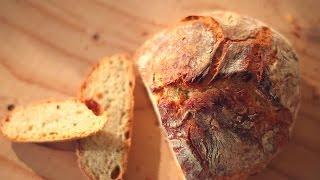 Brot ohne Kneten (No Knead Bread) Rezept und Anleitung