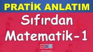 02) SIFIRDAN MATEMATİK   YKS(TYT)   KPSS   DGS   ALES   8.SINIF   Abdül Aziz Gürbüz