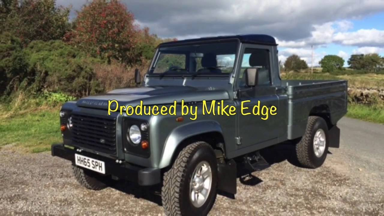 land rover defender 110 hi capacity pick up for sale youtube. Black Bedroom Furniture Sets. Home Design Ideas