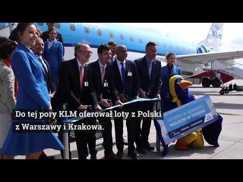 KLM Na Lotnisku W Gdańsku