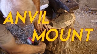 How to Mount an Anvil - Cool Trick