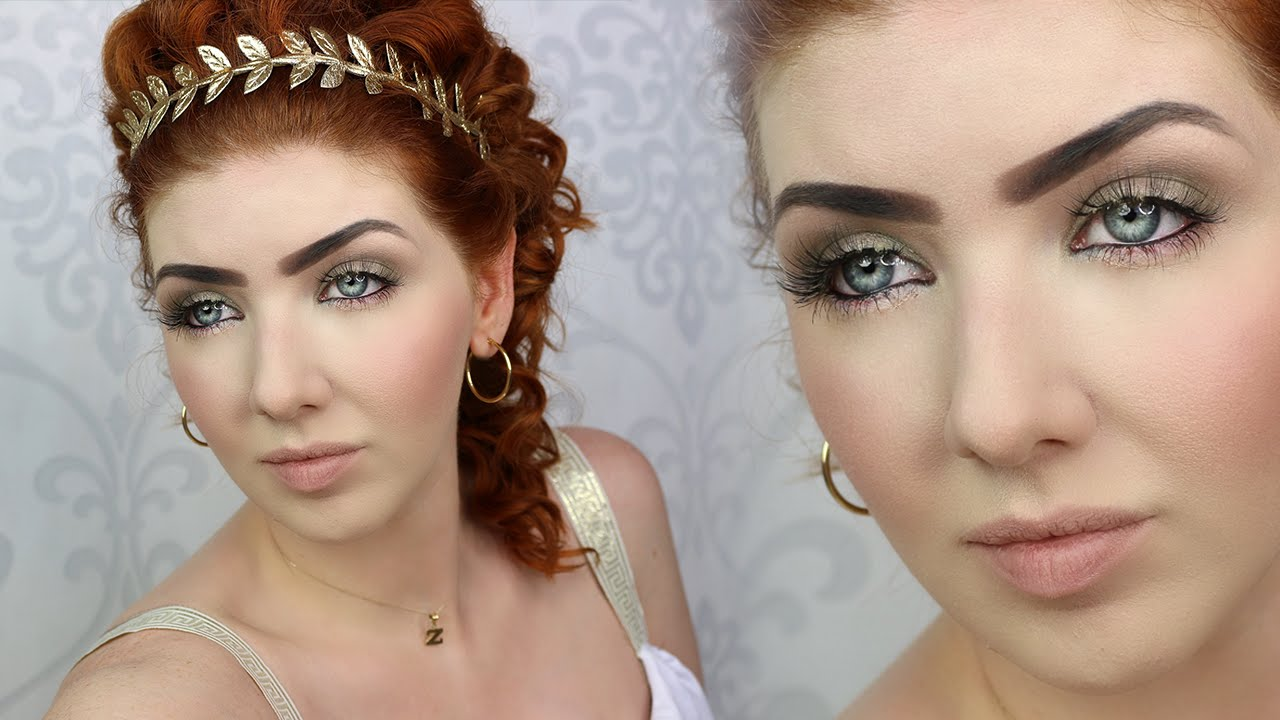 Historically Accurate Makeup Tutorial | ANCIENT ROME - YouTube