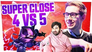 Bjergsen - SUPER CLOSE 4 VS 5
