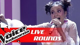 Virzha - Friends (Marshmello & Anne-Marie) | Live Rounds | The Voice Indonesia GTV 2018