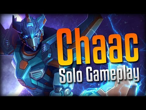 Smite: CHAACTIMUS PRIME!- Storm Tech Chaac Solo Gameplay