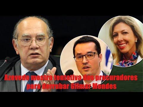 Vaza Jato: Azevedo mostra tentativa de procuradores para derrubar o ministro Gilmar Mendes