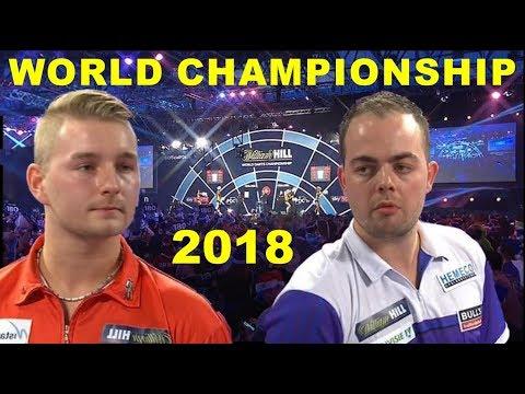 v.d.Bergh v Dekker (R2) 2018 World Championship