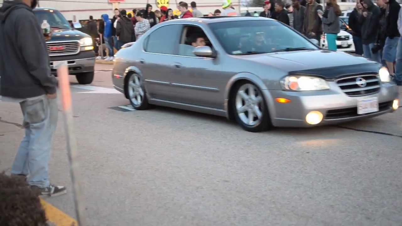 Slammed Maxima S Youtube