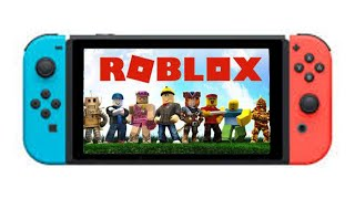 Going on ROBLOX on the Nintendo switch