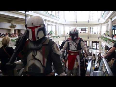 Star Wars Celebration 2017 Mandalorian Death March part 1
