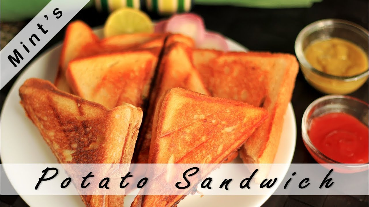Potato sandwich recipe aloo sandwich breakfast recipes potato sandwich recipe aloo sandwich breakfast recipes mintsrecipes youtube forumfinder Image collections