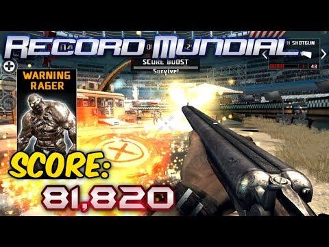 Dead Trigger 2 | ESTADIO: Nuevo Record Mundial (New World Record), Score: 81,820