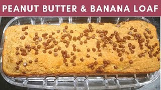 Peanut Butter and Banana Loaf Recipe (2SP) for Weight watchers
