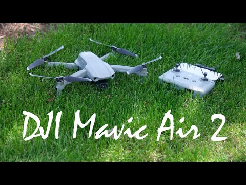 Фото DJI Mavic Air 2 - Unboxing & Review (w/ Test Footage)