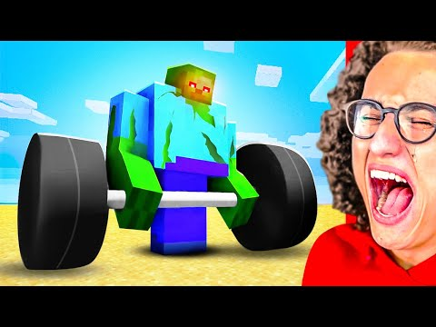 YOU LAUGH = BANNED FROM PLAYING MINECRAFT Challenge!