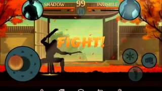 Shadow fight 2 shadow vs invisible