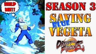 Blue Vegeta is downright awful and he needs big changes for Season 3 DBFZ