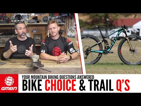 Choosing Your Next Bike & Trail Building Qs | Ask GMBN Anything About Mountain Biking