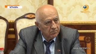 Սերժ Սարգսյանն  ընդունել է Արցախի Ազգային ժողովի խորհրդարանական պատվիրակությանը