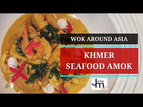 How To Cook Khmer Seafood Amok