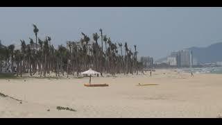 Da Nang 2014 360 View of China Beach across from old Navy Airstrip