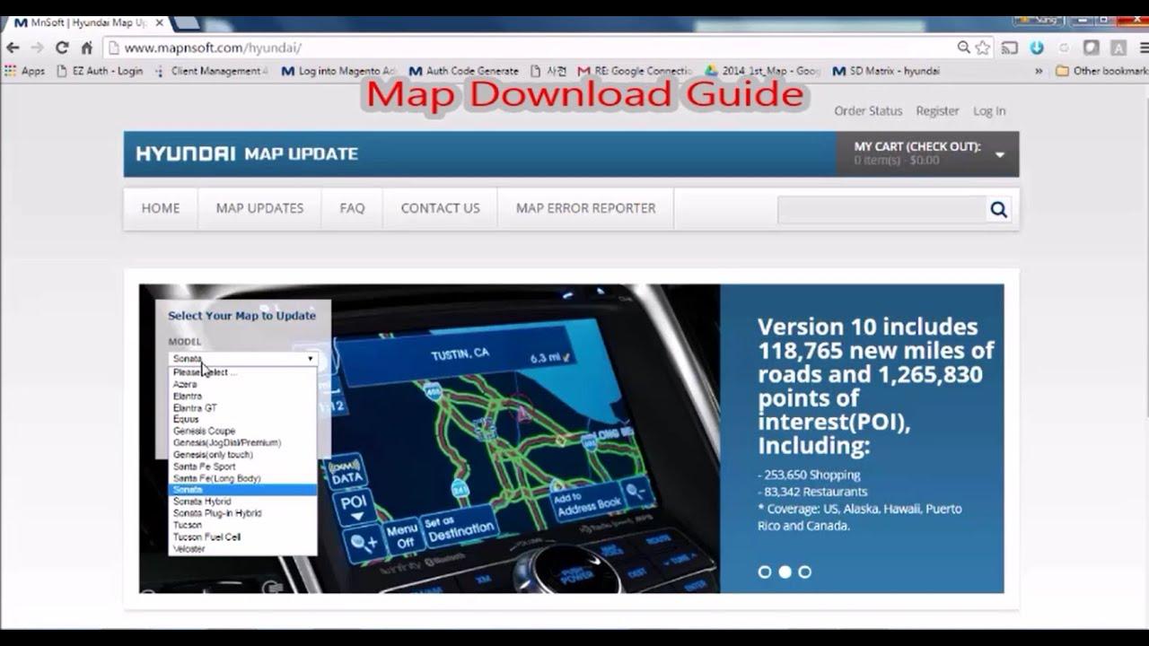 Hyundai Map Download Guide
