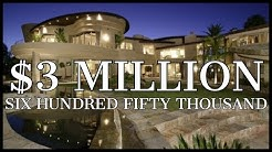 $3,650,000 CALIFORNIA LAKE FRONT PALACE with SPA, MOVIE THEATRE, LEATHER FLOORS, etc.