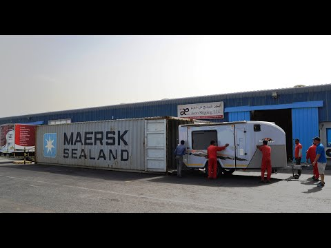 Motorhome Shipping From Or To Dubai UAE | Africa | Europe | Asia | USA