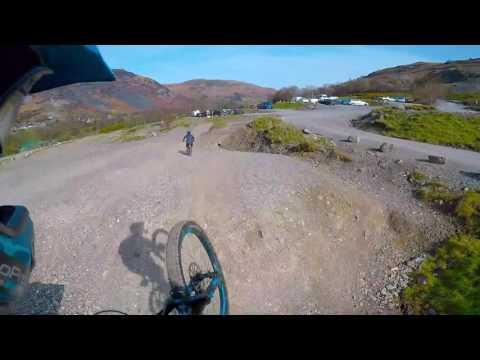 Revolution Bike Park 2017 - Downhill Mountain Biking - Canyon Strive