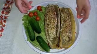 Кабачки с мясом Диетические лодочки из кабачков • Правильное питание