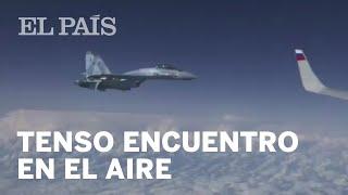 Tenso encuentro de un F-18 español con cazas rusos en el Báltico