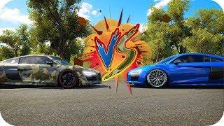 AUDI R8 V10 vs AUDI R8 V10 | ANTIGUO vs NUEVO!! FH3