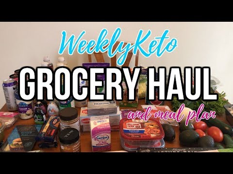 Weekly Keto Grocery Haul | Budget Meal Plan | Journey To Healthy