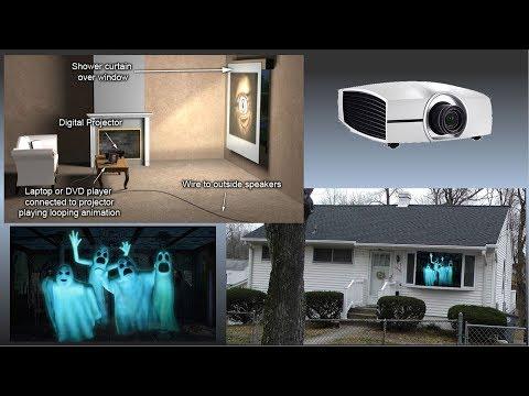 BEST VIDEO HALLOWEEN WINDOW DISPLAY