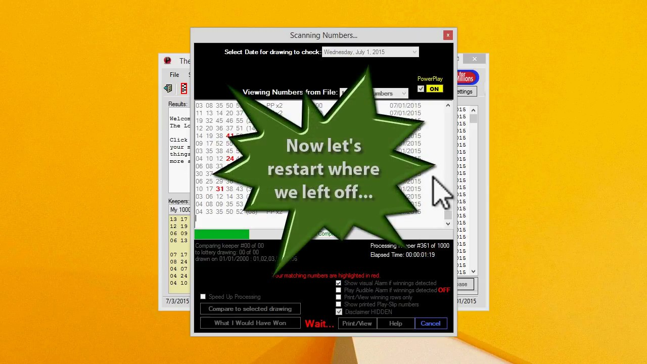 Best THE LOTTERY PICKER™ 2019 - Powerball & Mega Millions Software